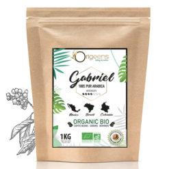 gabriel café en grains bio blend 1kg