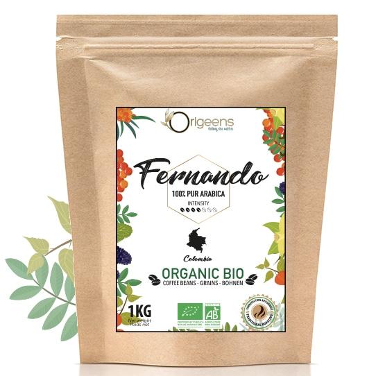 Fernando ~ Café en grain bio ~ Colombie
