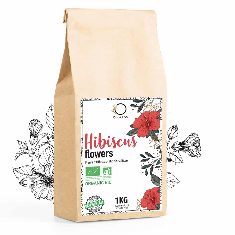 Fleurs d'Hibiscus ~ Bio 1kg