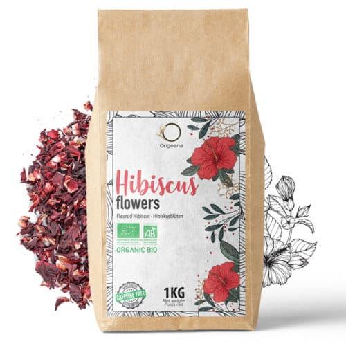 Hibiscus 1Kg Vrac BIO