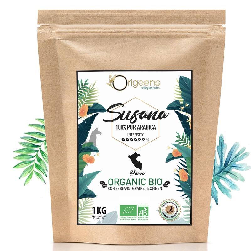 Susana ~ Café en grain Bio ~ Pérou
