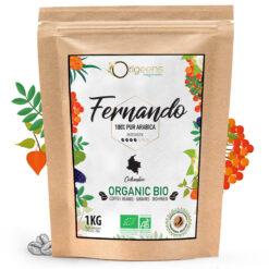 Café en grains Colombie BIO