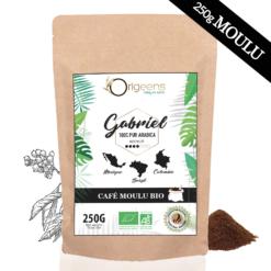 organic ground coffee latina america blend 250g