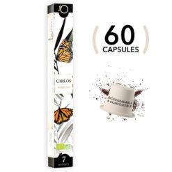 Notre capsule CARLOS en conditionnement 6 x 10