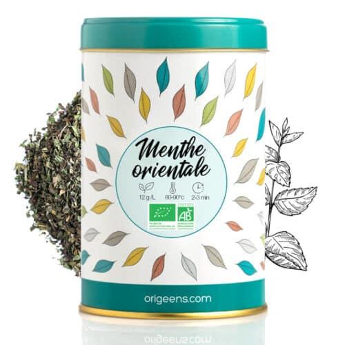 Menthe poivrée thé vert
